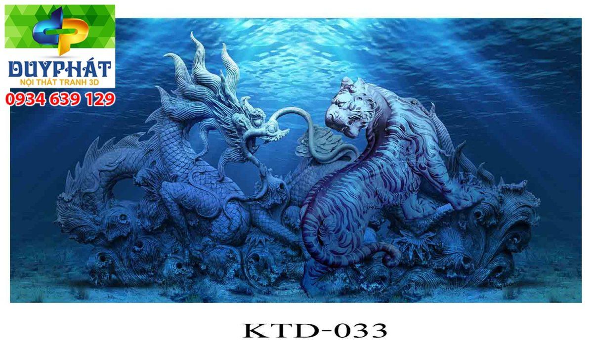 Tranh hồ cá THC340 đẹp cho nhà bạn
