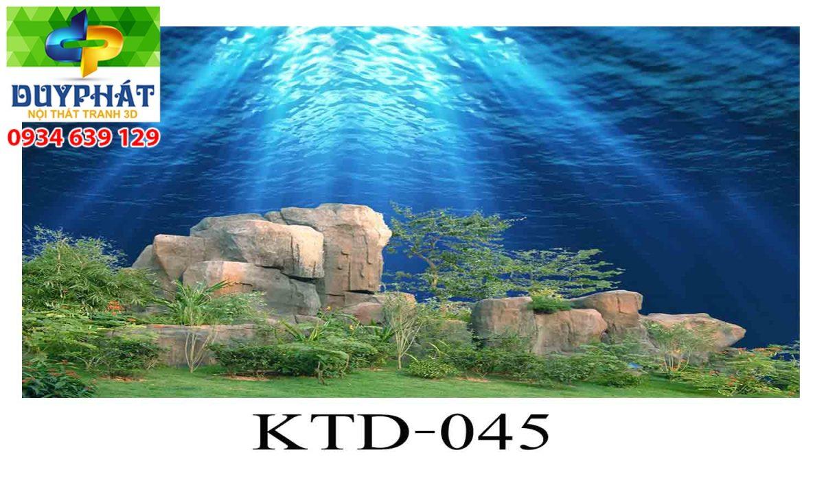 Tranh hồ cá THC349 đẹp cho nhà bạn