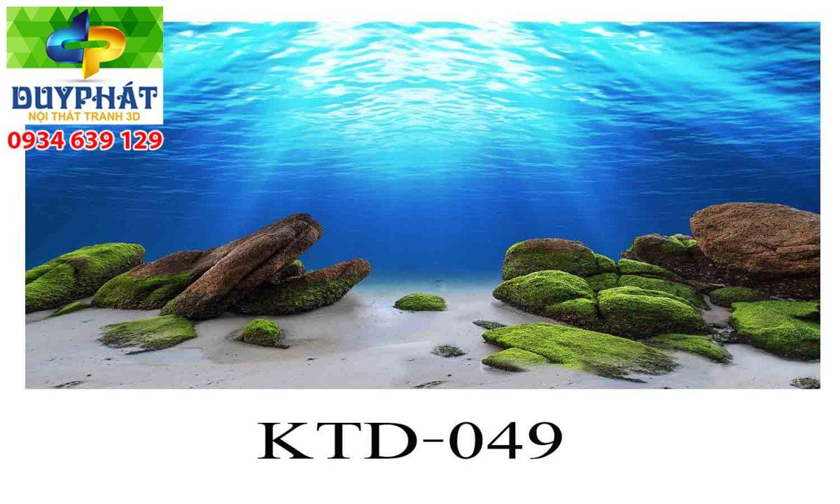 Tranh hồ cá THC352 đẹp cho nhà bạn