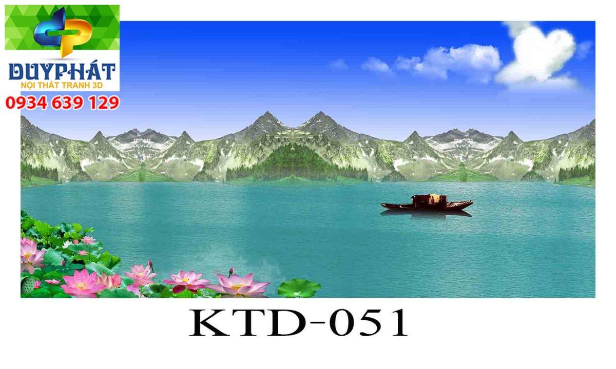 Tranh hồ cá THC353 đẹp cho nhà bạn