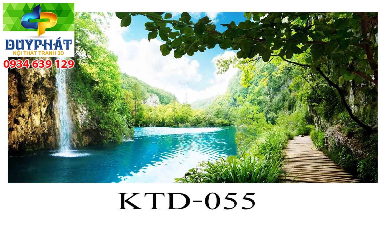 Tranh hồ cá THC355 đẹp cho nhà bạn