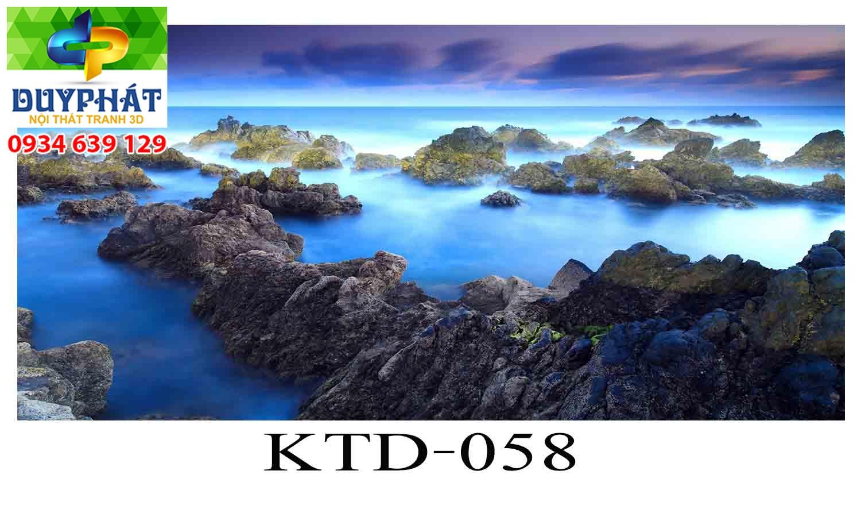 Tranh hồ cá THC358 đẹp cho nhà bạn