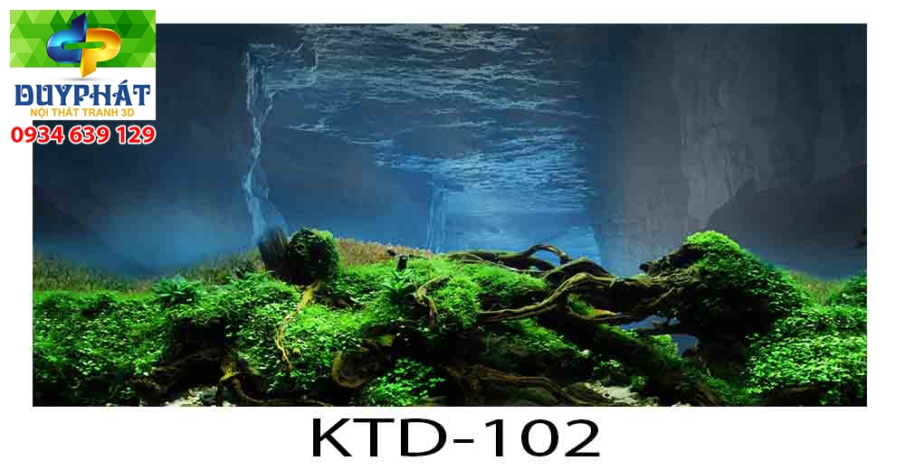 Tranh hồ cá THC375 đẹp cho nhà bạn
