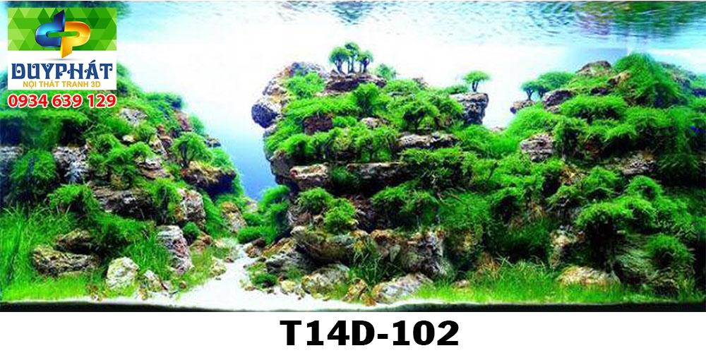 Tranh hồ cá THC377 đẹp cho nhà bạn