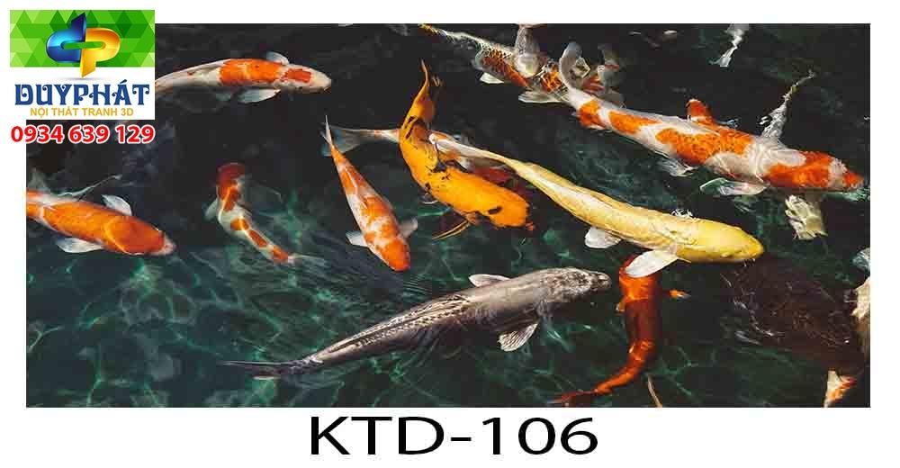 Tranh hồ cá THC385 đẹp cho nhà bạn