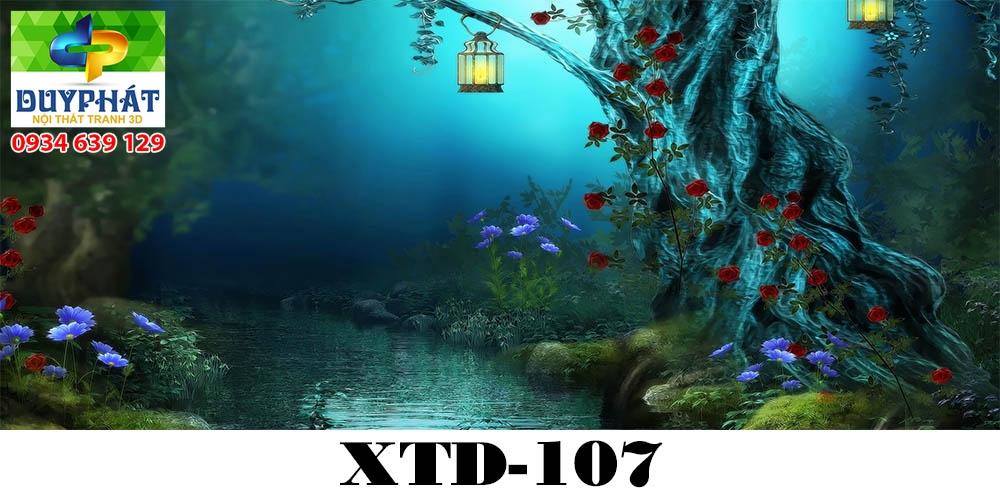 Tranh hồ cá THC386 đẹp cho nhà bạn