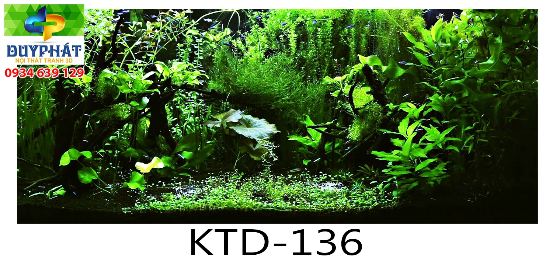 Tranh hồ cá THC454 đẹp cho nhà bạn