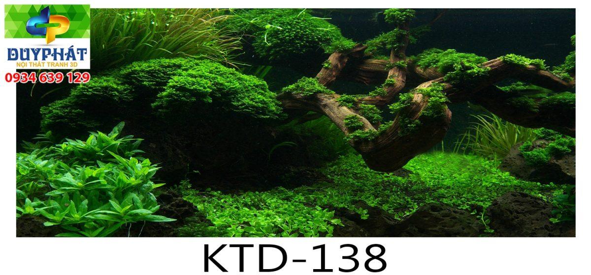 Tranh hồ cá THC458 đẹp cho nhà bạn