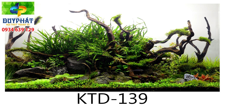 Tranh hồ cá THC460 đẹp cho nhà bạn