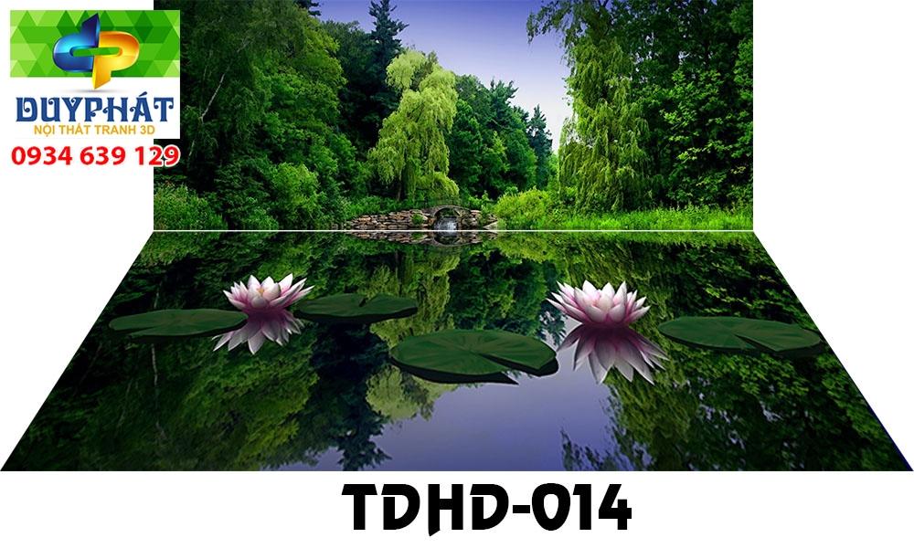 Tranh hồ cá THC461 đẹp cho nhà bạn