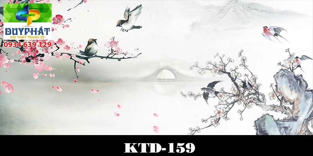 Tranh hồ cá THC505 đẹp cho nhà bạn