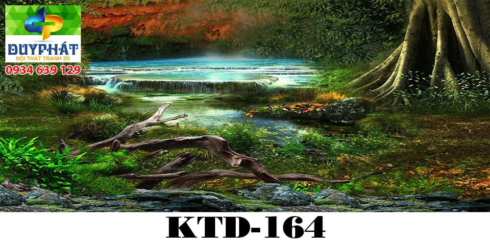 Tranh hồ cá THC519 đẹp cho nhà bạn