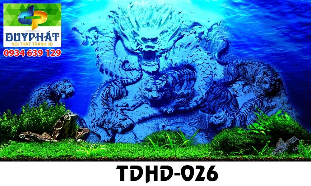 Tranh hồ cá THC570 đẹp cho nhà bạn