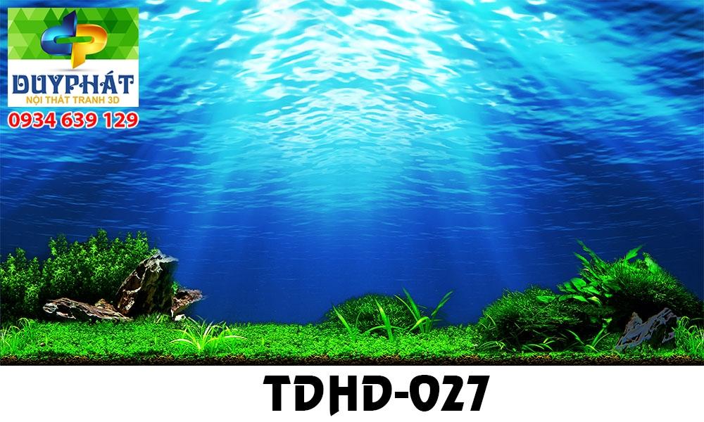 Tranh hồ cá THC573 đẹp cho nhà bạn