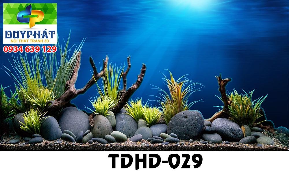 Tranh hồ cá THC579 đẹp cho nhà bạn