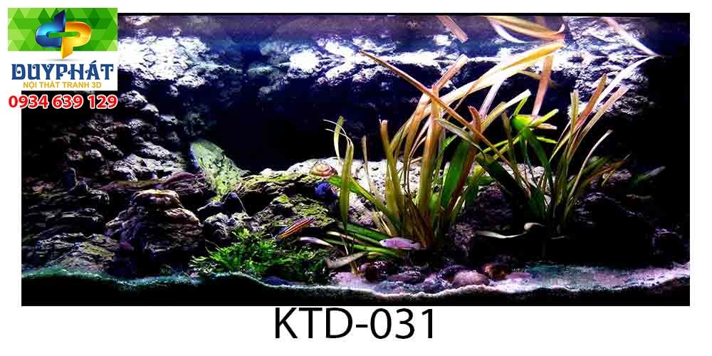 Tranh hồ cá THC589 đẹp cho nhà bạn