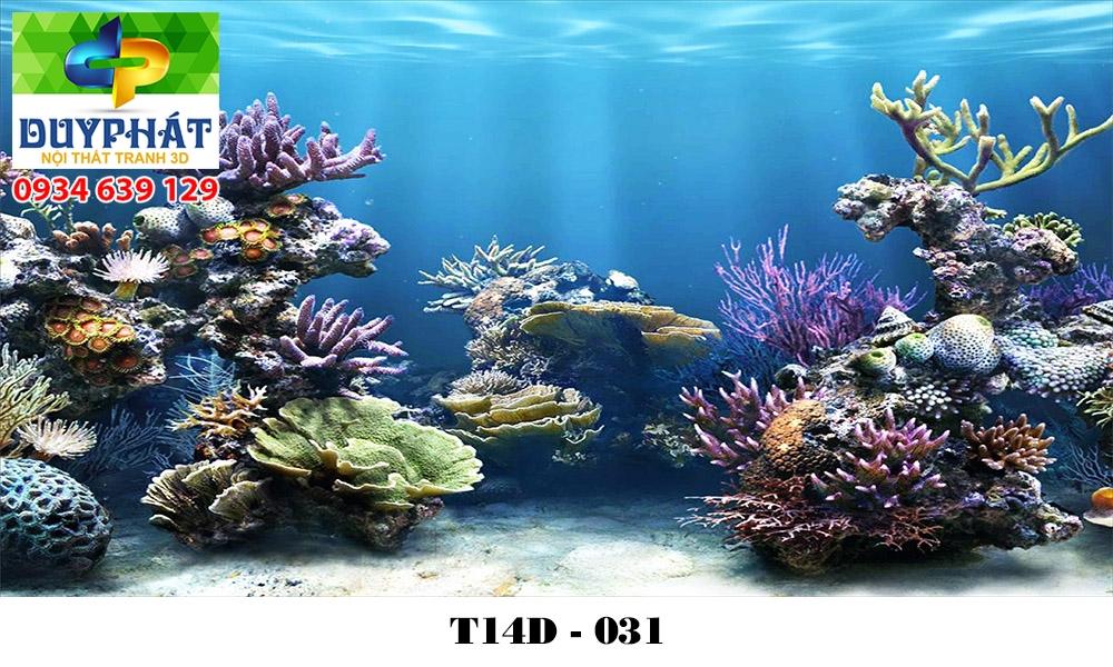 Tranh hồ cá THC592 đẹp cho nhà bạn