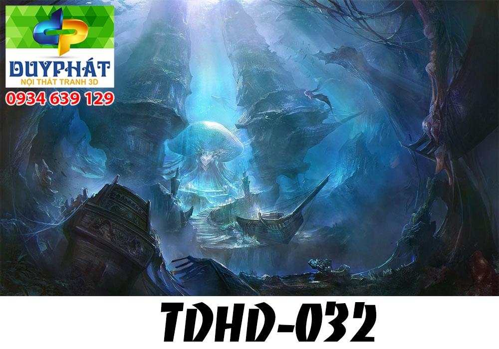 Tranh hồ cá THC593 đẹp cho nhà bạn