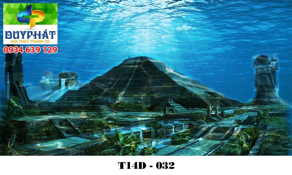 Tranh hồ cá THC595 đẹp cho nhà bạn