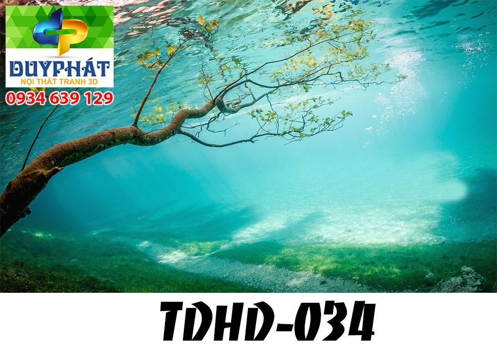 Tranh hồ cá THC599 đẹp cho nhà bạn