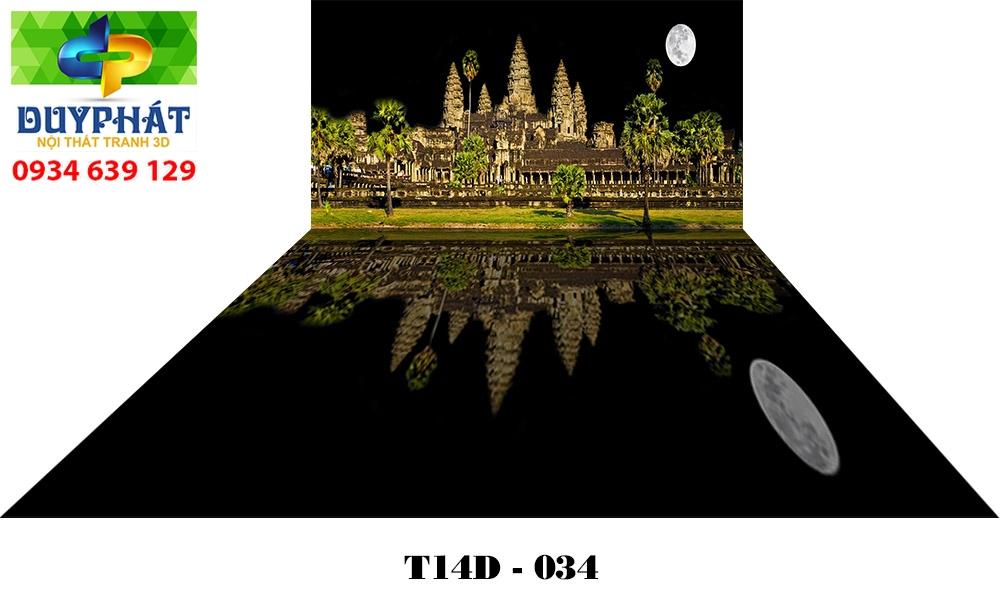 Tranh hồ cá THC601 đẹp cho nhà bạn
