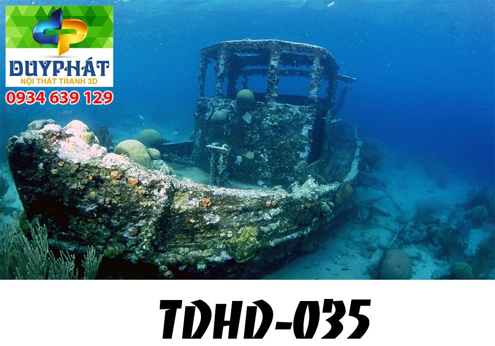 Tranh hồ cá THC602 đẹp cho nhà bạn