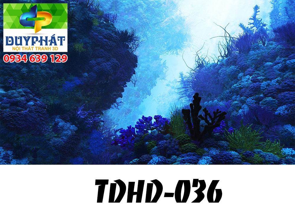 Tranh hồ cá THC606 đẹp cho nhà bạn