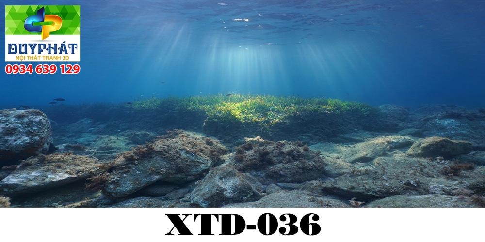 Tranh hồ cá THC607 đẹp cho nhà bạn