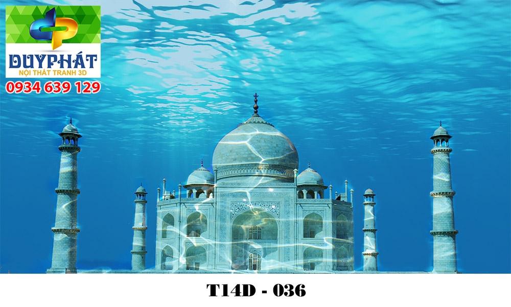 Tranh hồ cá THC608 đẹp cho nhà bạn