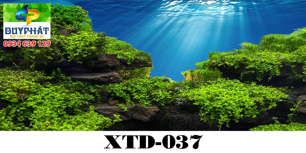 Tranh hồ cá THC611 đẹp cho nhà bạn