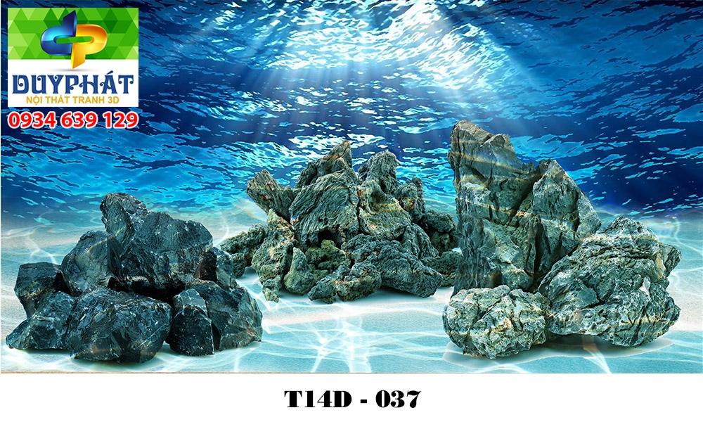 Tranh hồ cá THC612 đẹp cho nhà bạn