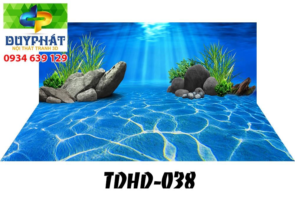 Tranh hồ cá THC613 đẹp cho nhà bạn