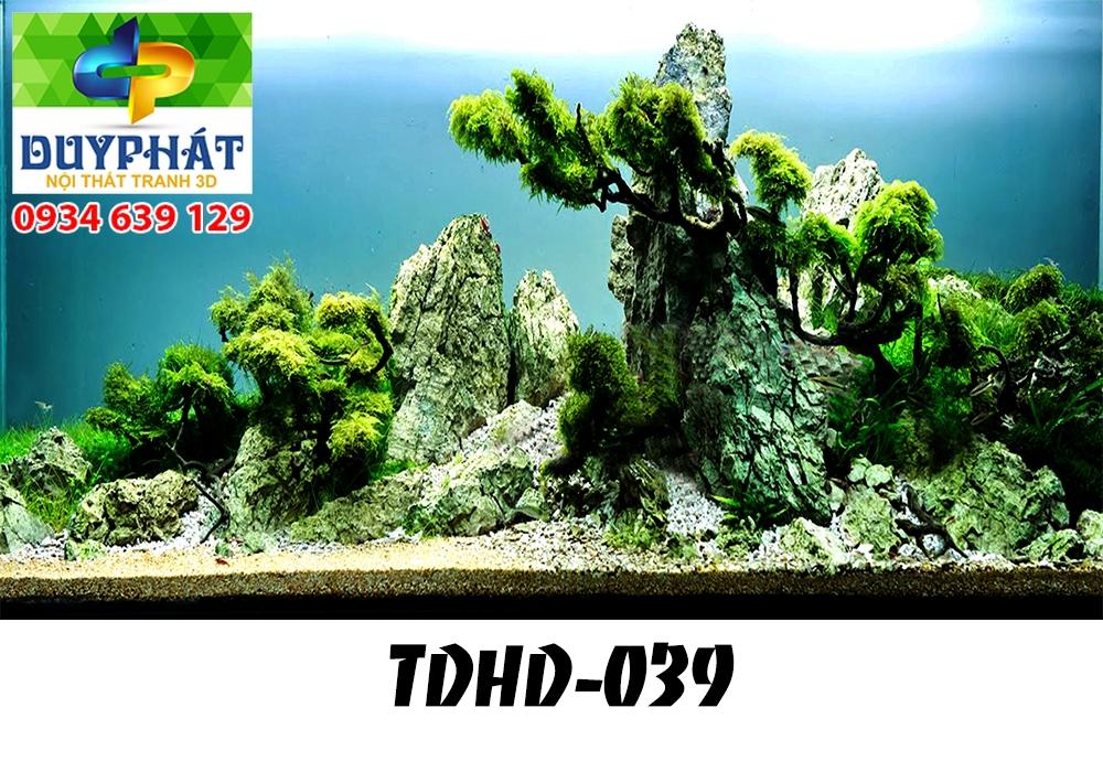 Tranh hồ cá THC616 đẹp cho nhà bạn