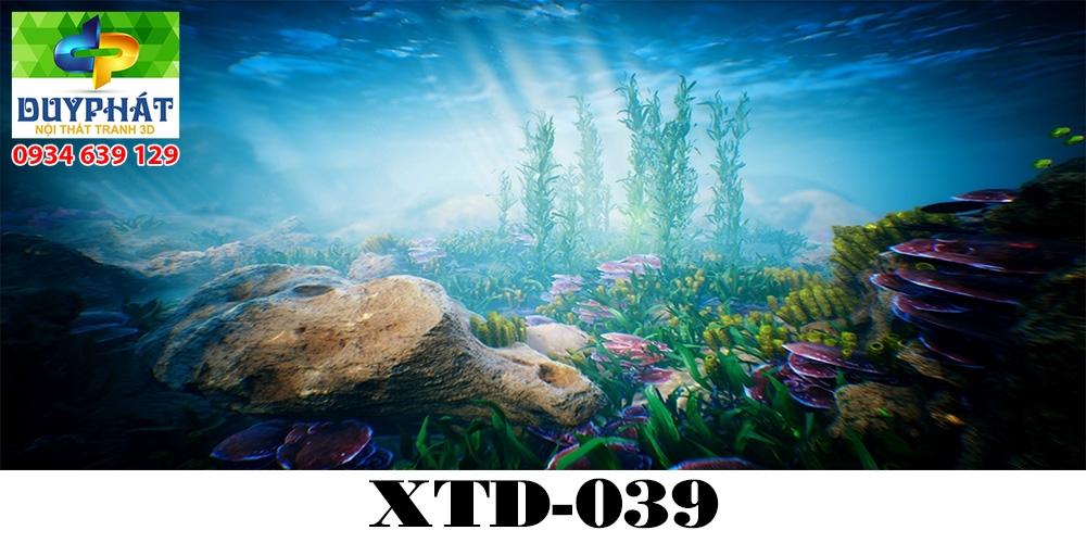 Tranh hồ cá THC617 đẹp cho nhà bạn