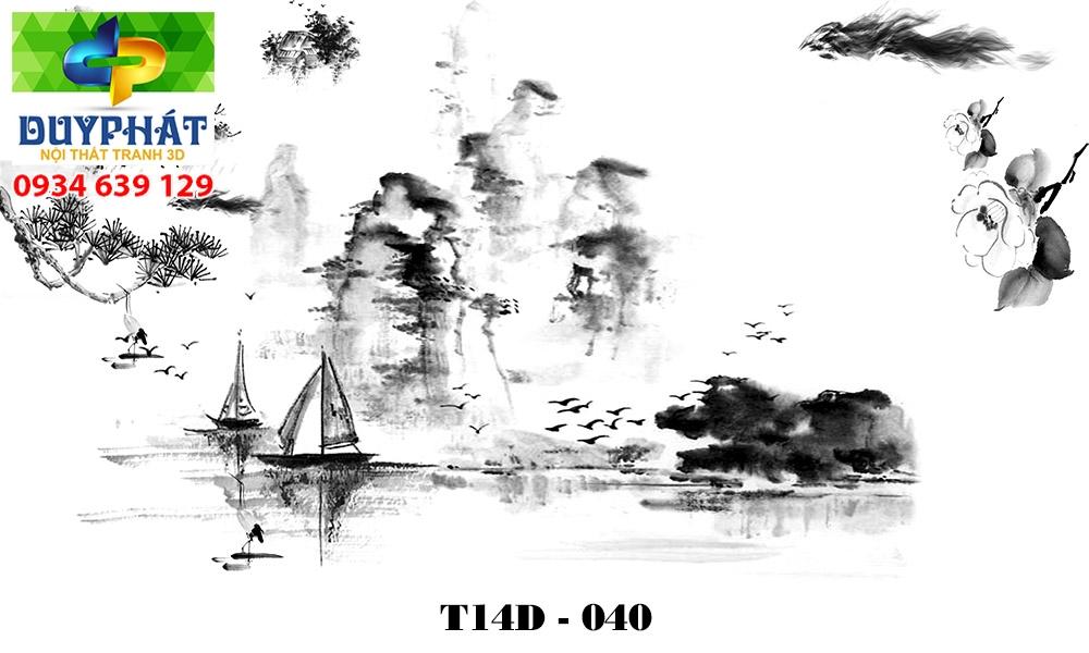 Tranh hồ cá THC625 đẹp cho nhà bạn