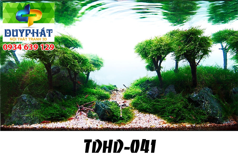 Tranh hồ cá THC626 đẹp cho nhà bạn