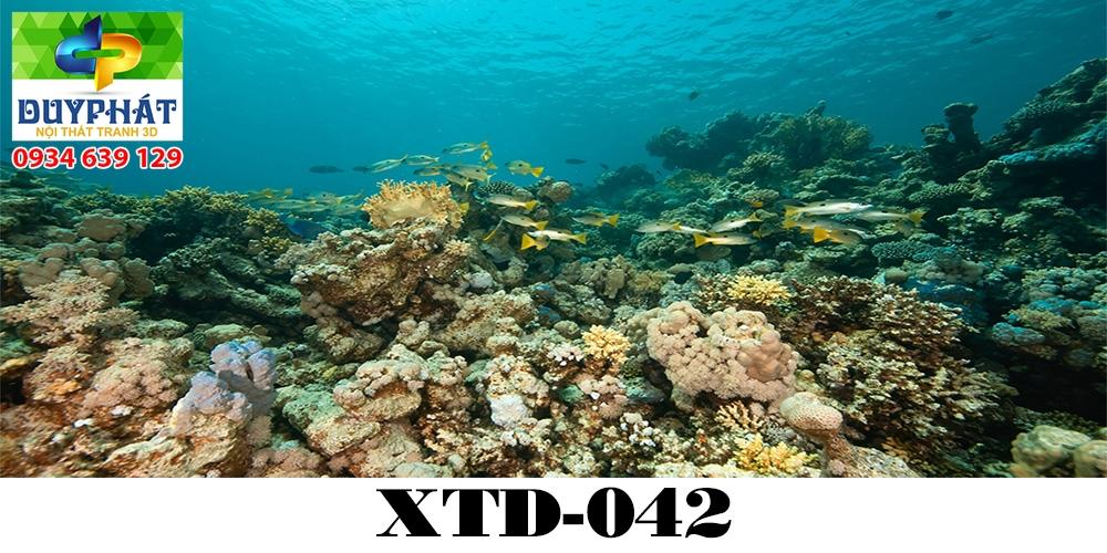 Tranh hồ cá THC630 đẹp cho nhà bạn