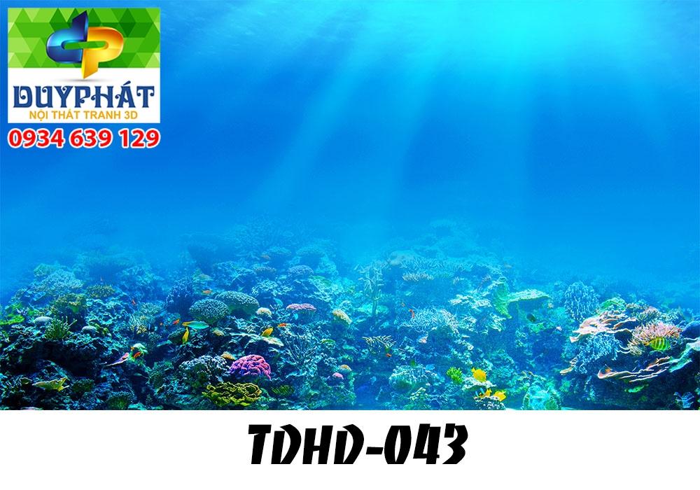 Tranh hồ cá THC632 đẹp cho nhà bạn