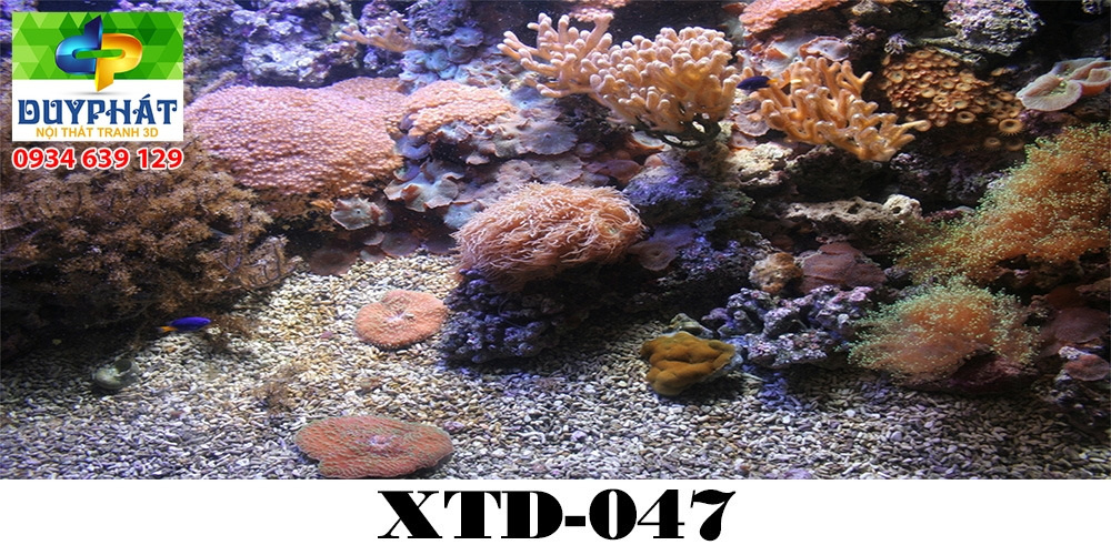 Tranh hồ cá THC646 đẹp cho nhà bạn