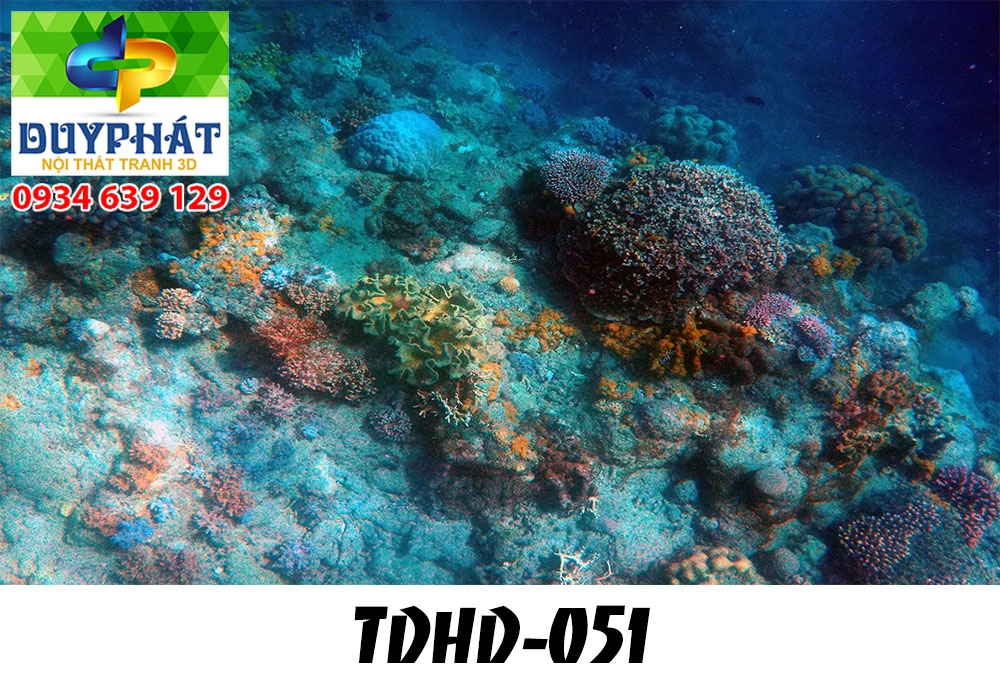 Tranh hồ cá THC662 đẹp cho nhà bạn