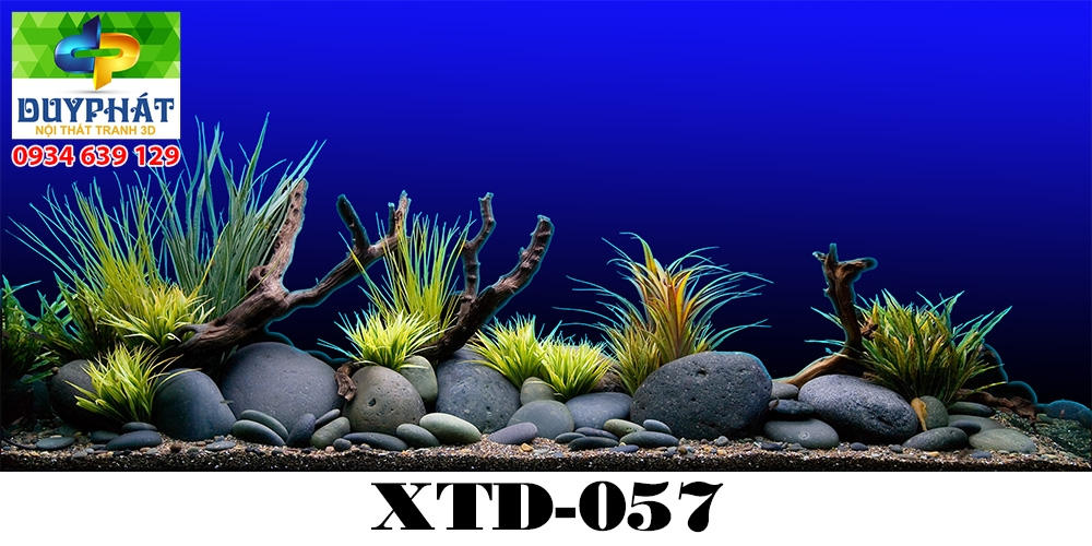 Tranh hồ cá THC682 đẹp cho nhà bạn