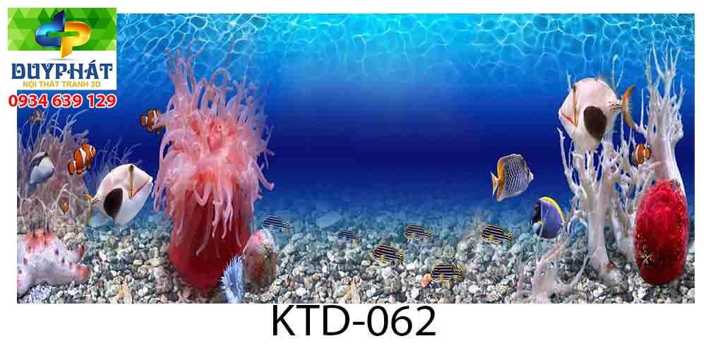 Tranh hồ cá THC701 đẹp cho nhà bạn