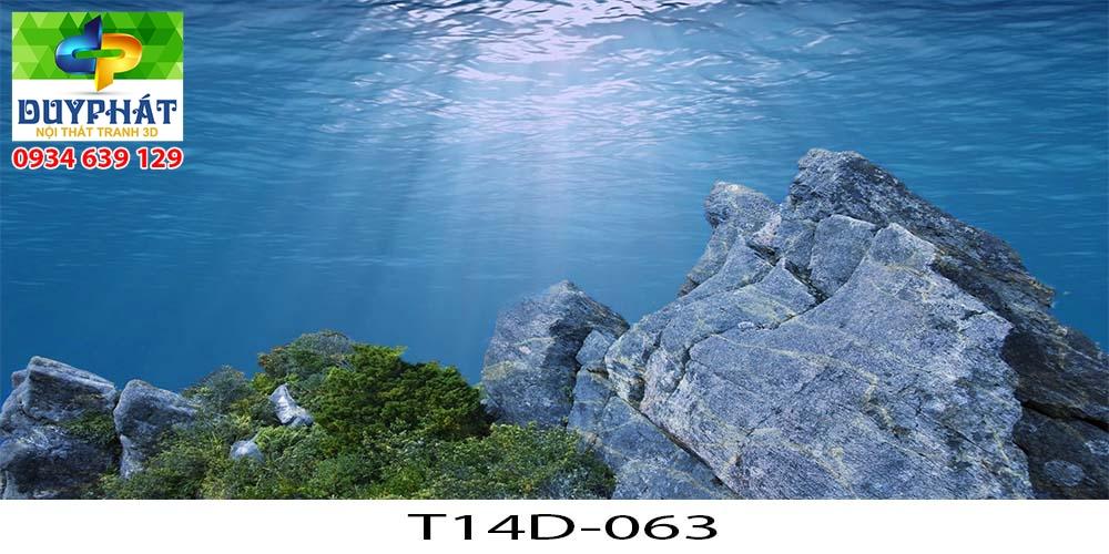 Tranh hồ cá THC706 đẹp cho nhà bạn