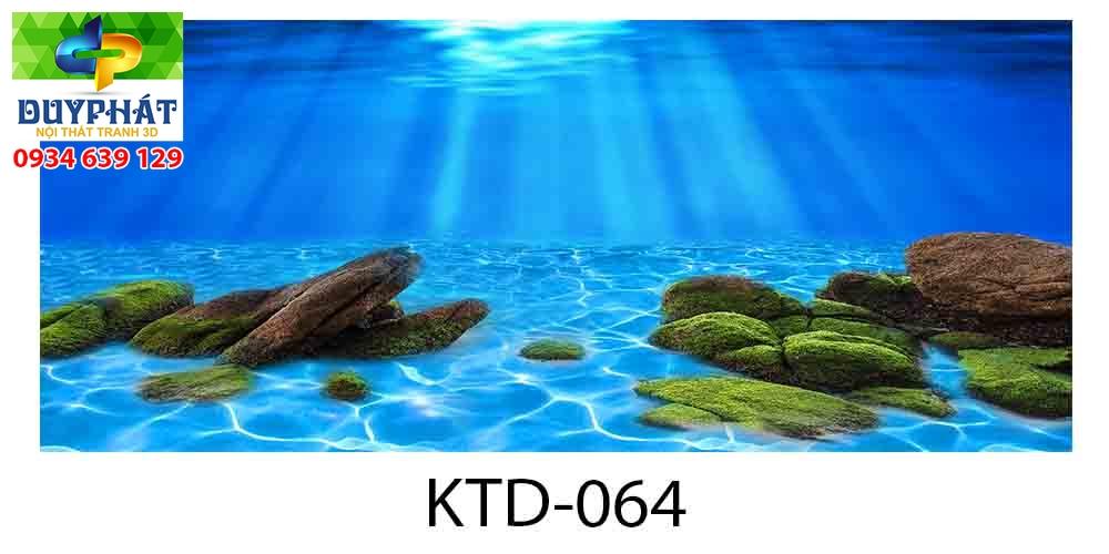 Tranh hồ cá THC707 đẹp cho nhà bạn