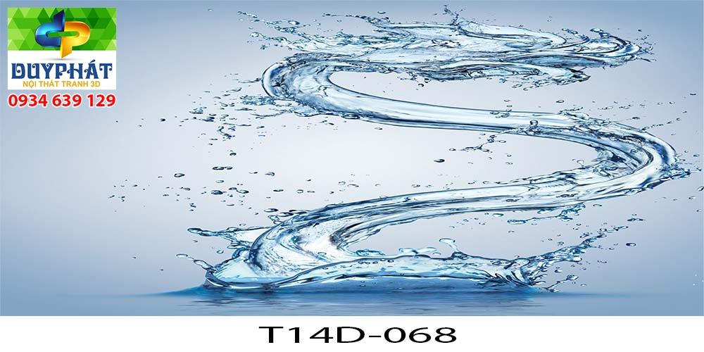 Tranh hồ cá THC721 đẹp cho nhà bạn