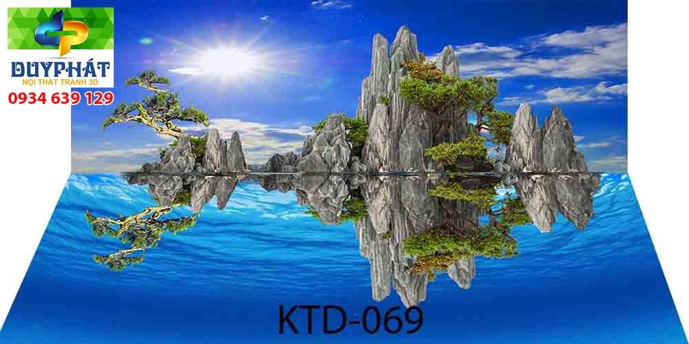 Tranh hồ cá THC722 đẹp cho nhà bạn