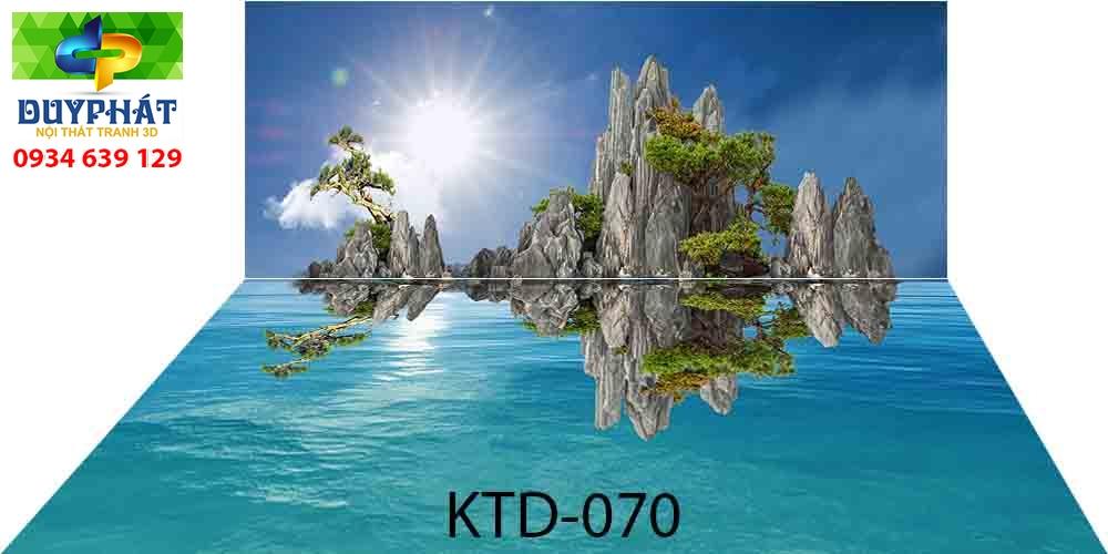 Tranh hồ cá THC729 đẹp cho nhà bạn