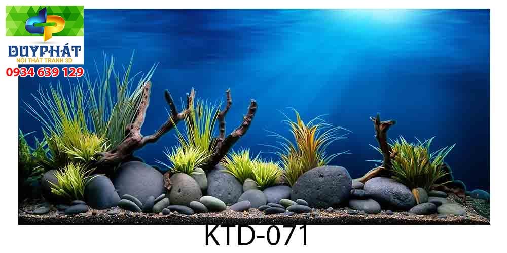 Tranh hồ cá THC732 đẹp cho nhà bạn