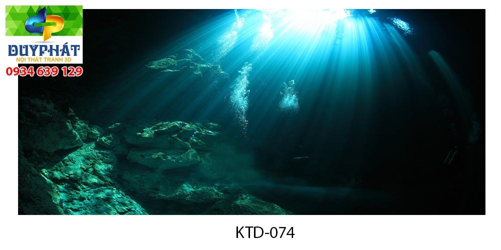 Tranh hồ cá THC741 đẹp cho nhà bạn
