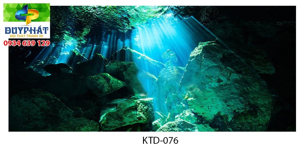 Tranh hồ cá THC747 đẹp cho nhà bạn